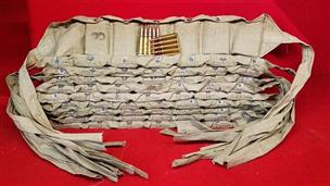 700 Rounds 8mm Mauser (8x57) Ammo - 10 Bandoliers / 140